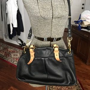 J Crew leather bag black